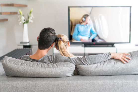 TV couch